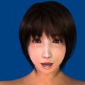 顔面モデリング見本