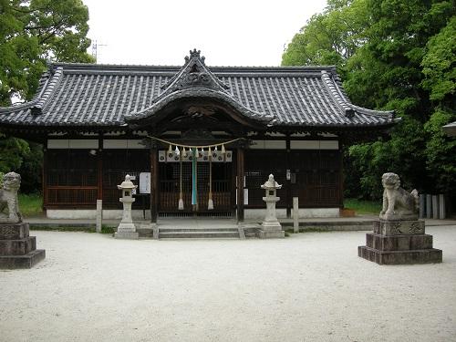日部神社拝殿