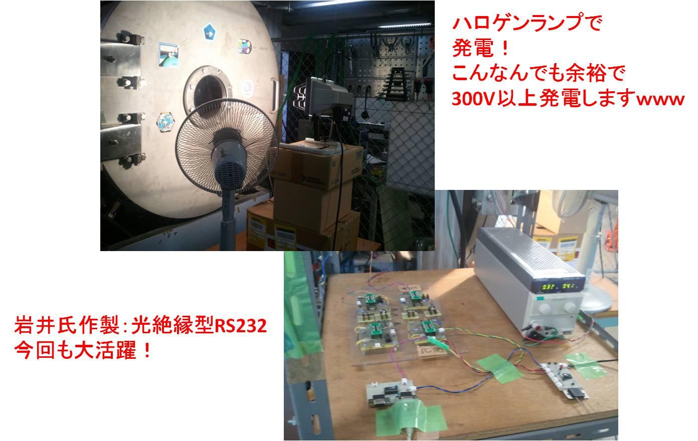 FM放電試験