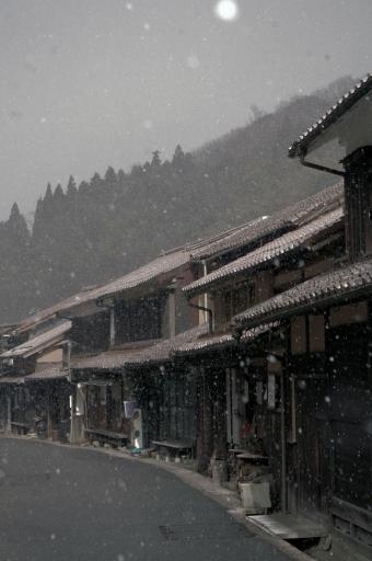 大森、駒の足の冬景色
