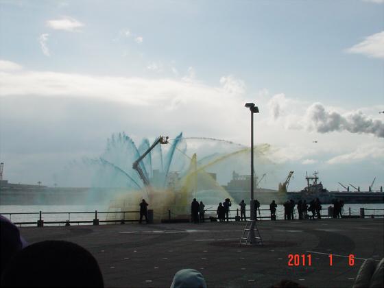 1月頭の消防隊出初式06