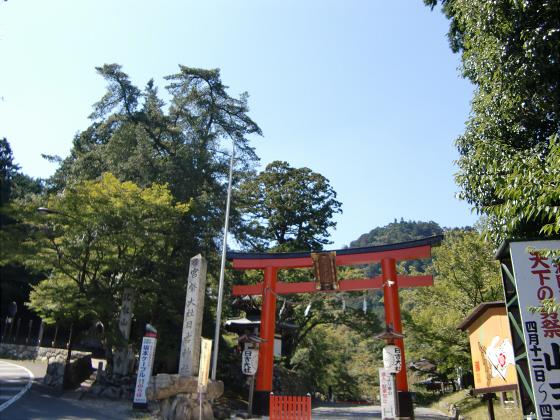 坂本駅周辺⇒日吉神社03