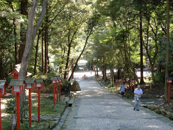坂本駅周辺⇒日吉神社16
