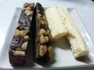 チョコブラウニー&チーズケーキ02