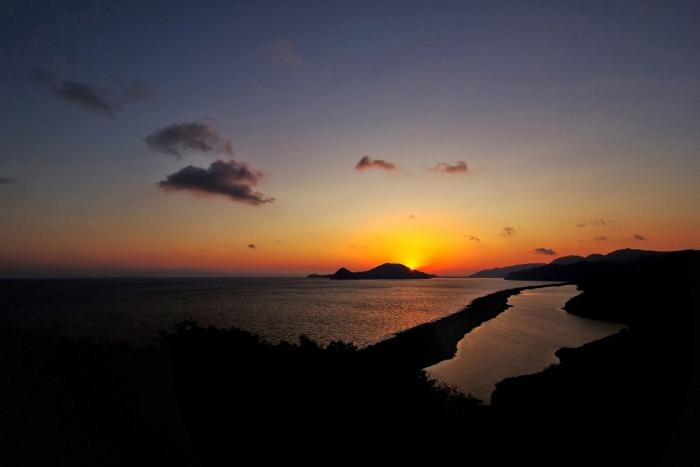 長目の浜 夜明け 1