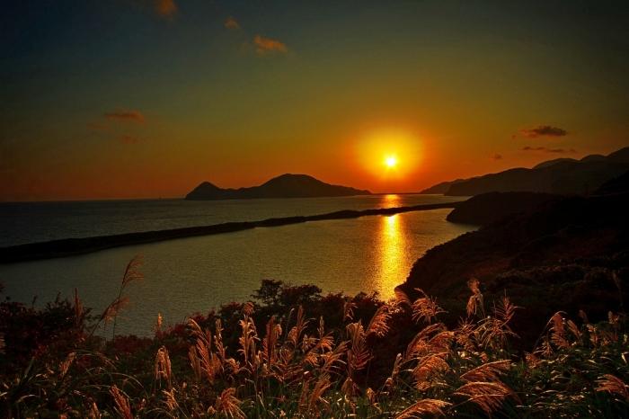 夜明け 長目の浜
