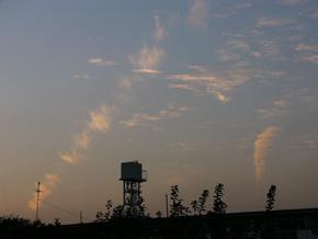 中越地震5日前の写真