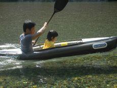 ぱぱ氏とボート