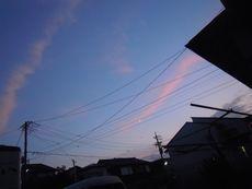 地震雲!?