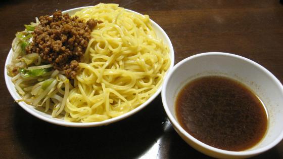 肉そぼろつけ麺