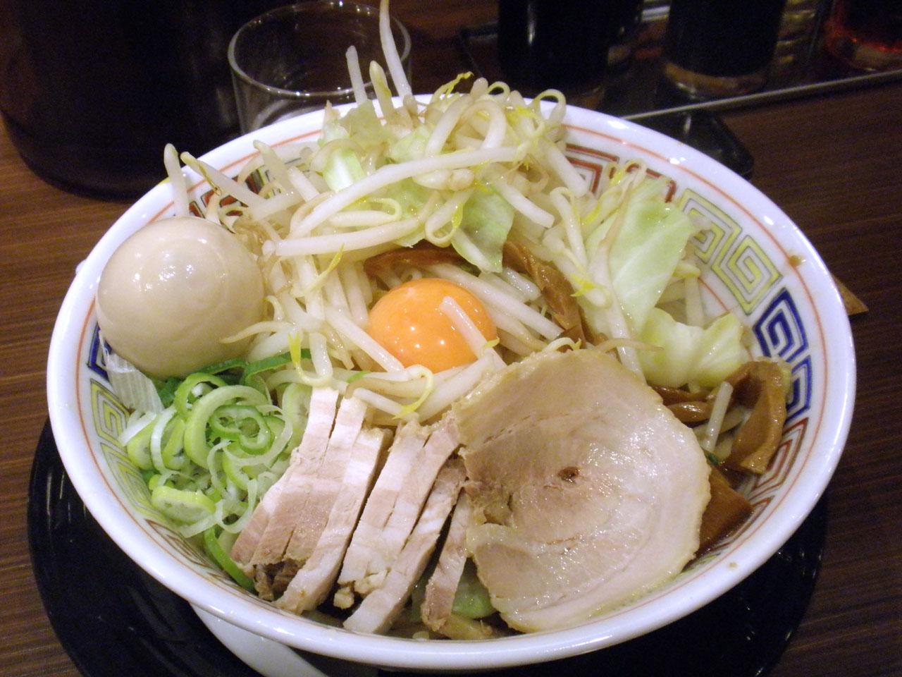 特製ガッツリ汁なし麺