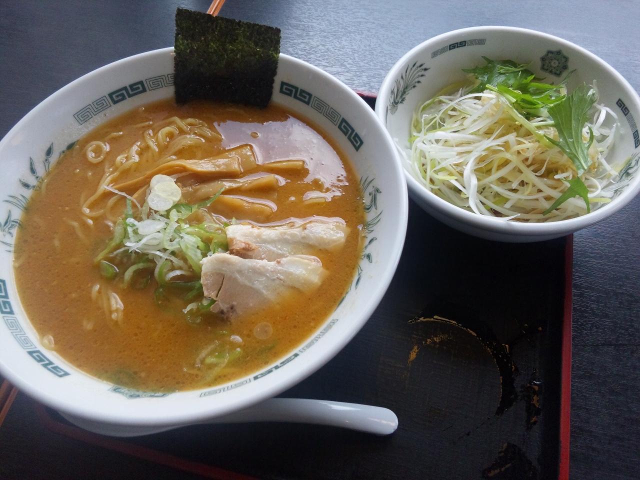 ネギ味噌ラーメン(大盛)