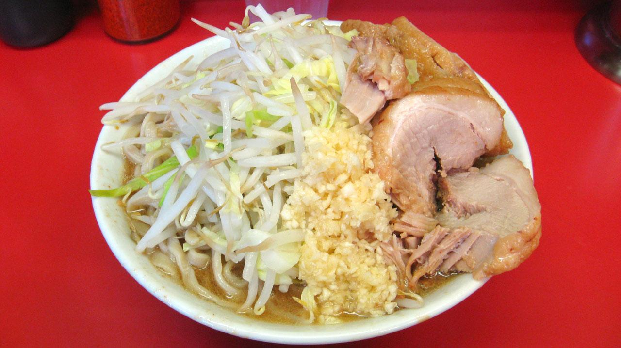 ラーメン二郎 桜台駅前店「小ラーメン豚入り」