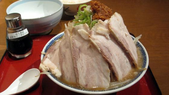 富士叉焼麺