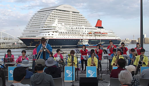 SWING JAZZ CRUISE in 神戸2014(2)-2