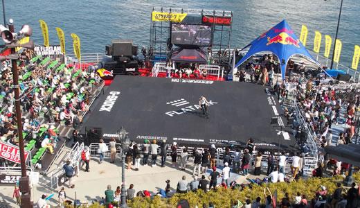 BMXフラットランド世界選手権&六甲アイランドハロウィンフェスティバル-2