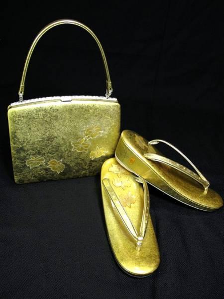 高級草履バッグセット