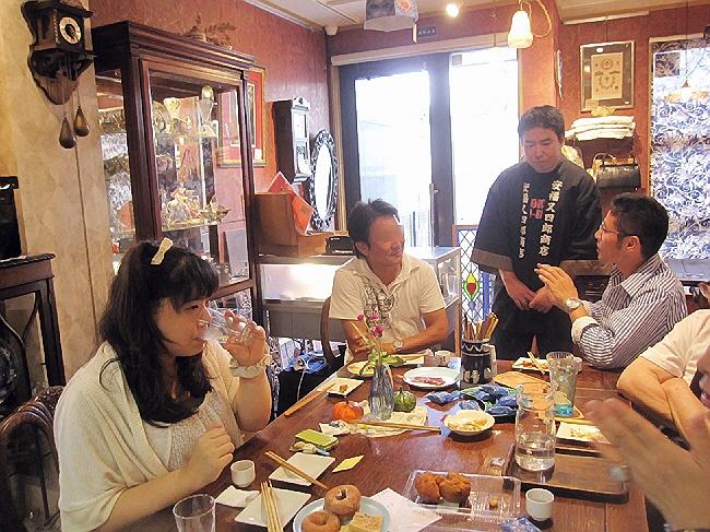 そばめし選手権参加証&キコサロン利き酒会♪