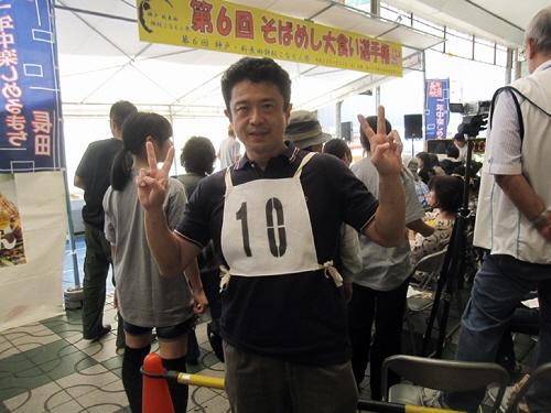 第6回そばめし大食い選手権に参加ヽ(^o^)丿