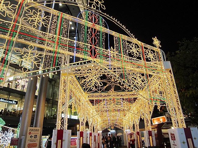 クリスマスイルミネーション@あべの 早っ!(^^)!