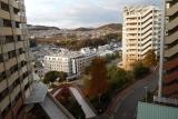 神戸市営住宅・ベルデ名谷 5番館から総合運動公園方面を望む
