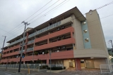 周囲一帯が区画整理された神戸市営水笠西住宅