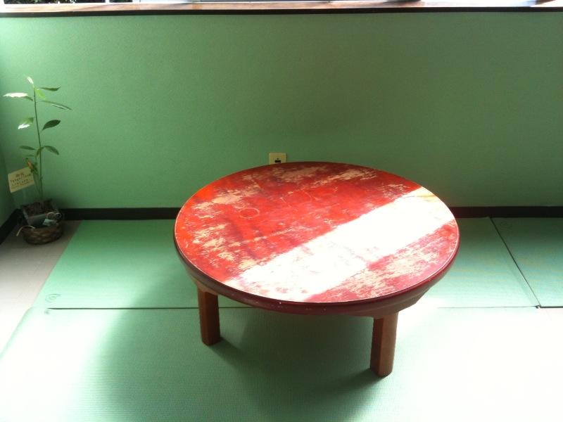 見覚えのあるテーブル