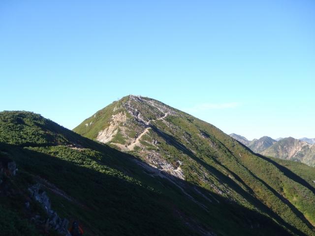爺ヶ岳2峰