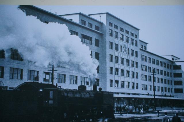 昭和12年の名古屋駅