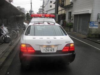 パトカー1