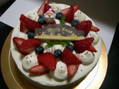 w2010クリスマスケーキ
