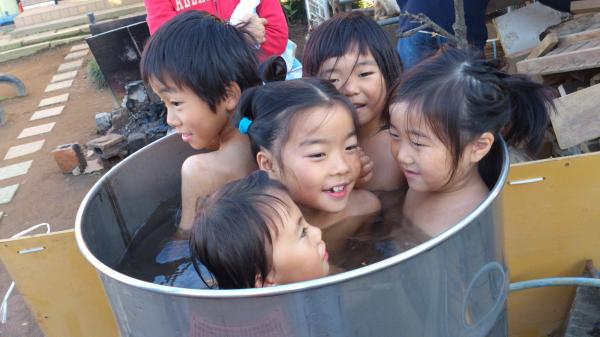 ドラム缶風呂