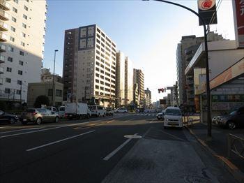松栄戸越マンション前面道路_R