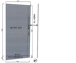 大井5丁目<コイン式駐車場・清水さん所有>地積図_R