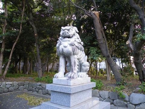 旧聞に属する話2011-狛犬1