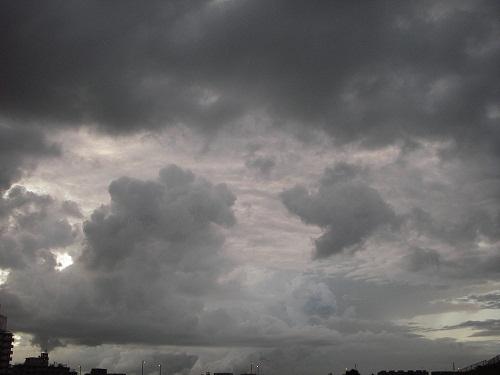 8,31 午後6時の雲