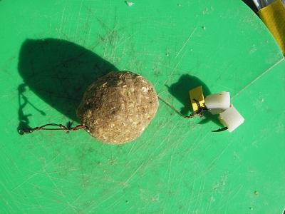 ラセン1本バリにカマボコと発泡