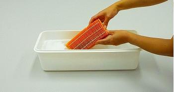 加湿器フィルター洗浄2