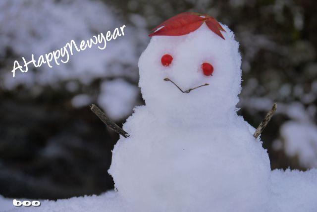 hand made 雪だるま♪