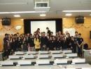 KAZUKI & Rosa at Colombia presentation at Nihon university