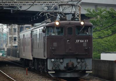 配9876レ EF64 37+マニ50-2186