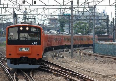 1478T 201系H7編成 青梅特快東京行