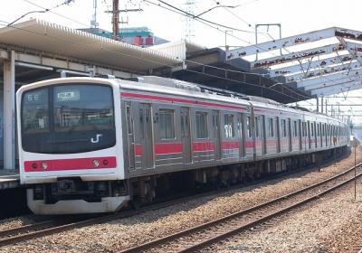 配9651レ EF64 37+マニ50-2186+205系Y12編成
