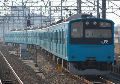 1684Y 201系Y53編成+K3編成 各停東京行