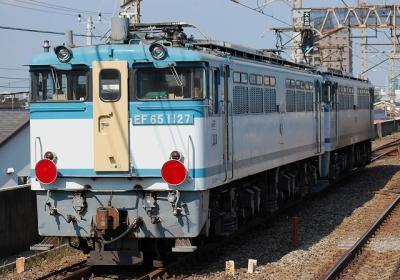 単8283レ EF65 1050+EF65 1127