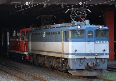 EF65 1050+DE10 3509