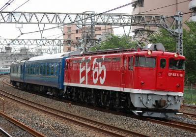 配8991レ EF65 1118+24系