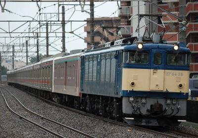 配9651レ EF64 39+マニ50-2186+205系Y12