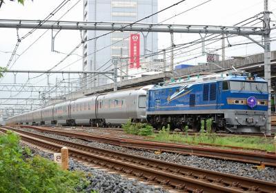 8010レ EF510-502+E26系 寝台特急カシオペア上野行