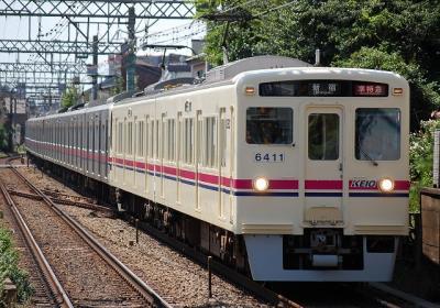 No.12 6411F+9001F 準特急新宿行